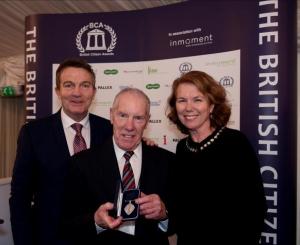 Ray Matthews receives British Citizen Award