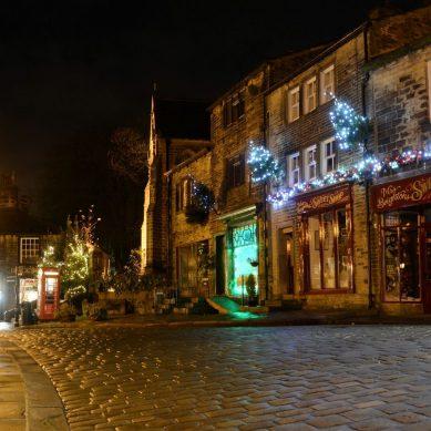 We Visit: Haworth at Christmastime