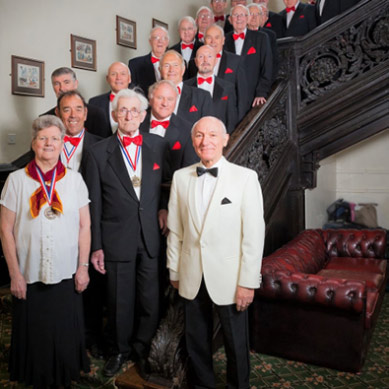 Thurnscoe Harmonic Male Voice Choir – Still on song 90 years on