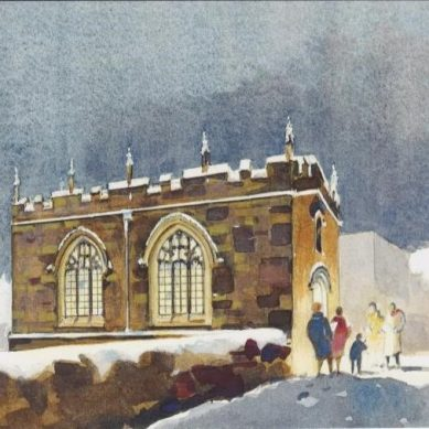 Charity Christmas Card for Chapel on the Bridge