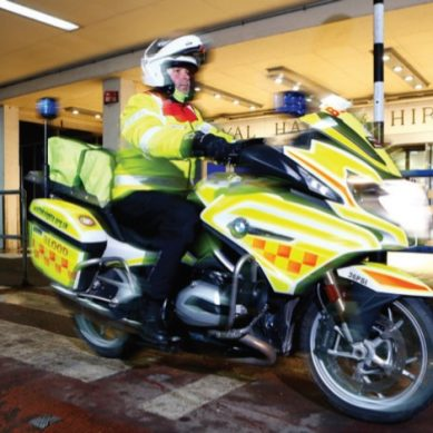 Aroundtown Meets Whiteknights Yorkshire Blood Bikes