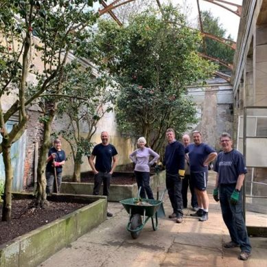Aroundtown Meets the Wentworth Woodhouse garden team