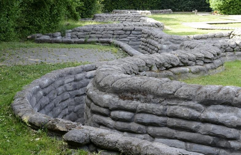 Yorkshire Trench, Ypres, Belgium